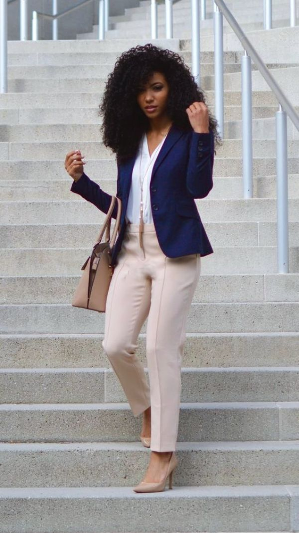 262d123aaf 70 Casual Work Outfits For Black Women