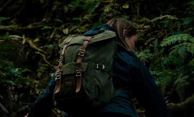 The Pioneer Gear canvas backpack