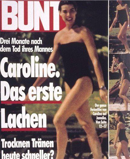 BUNTE - Caroline von Monaco