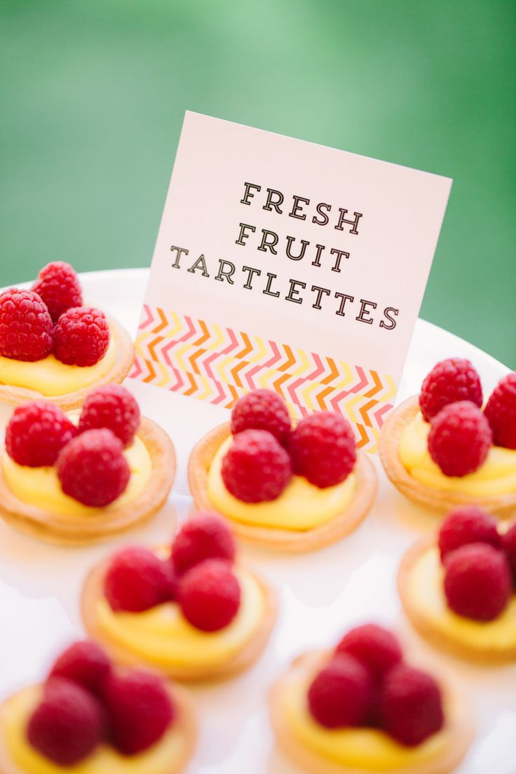 Fresh Fruit Tartlettes | Recipe by Baked by Joanna for The TomKat Studio