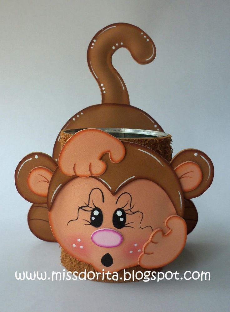 fun foam monkey treat jar
