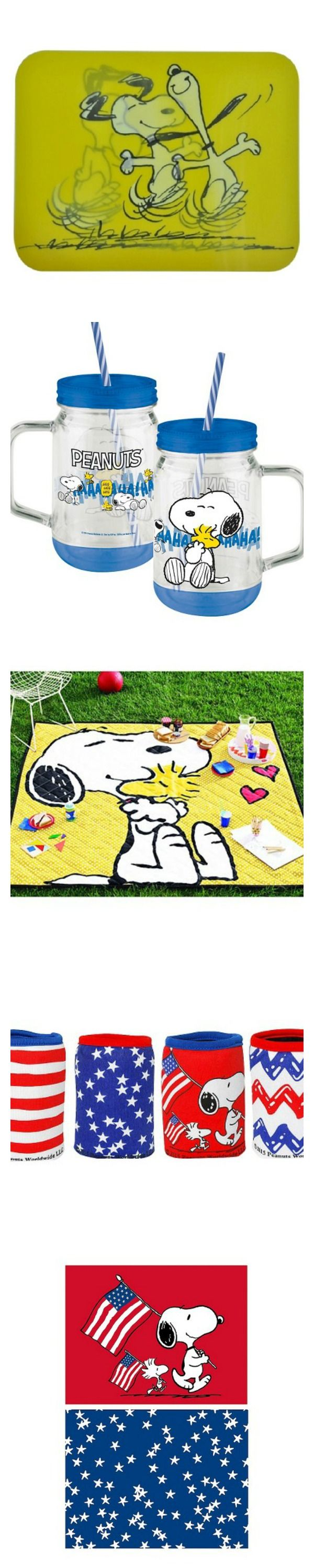 Join Snoopy, Charlie Brown and the Peanuts Gang for summer time fun! Target has lots of goodies for a great picnic, day at the Beach and Fourth of July featuring your favorite characters. Shop online to help CollectPeanuts.com.