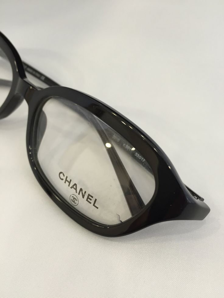 CHANEL Authentic vintage Eye glasses #3010 by athensoptical on Etsy