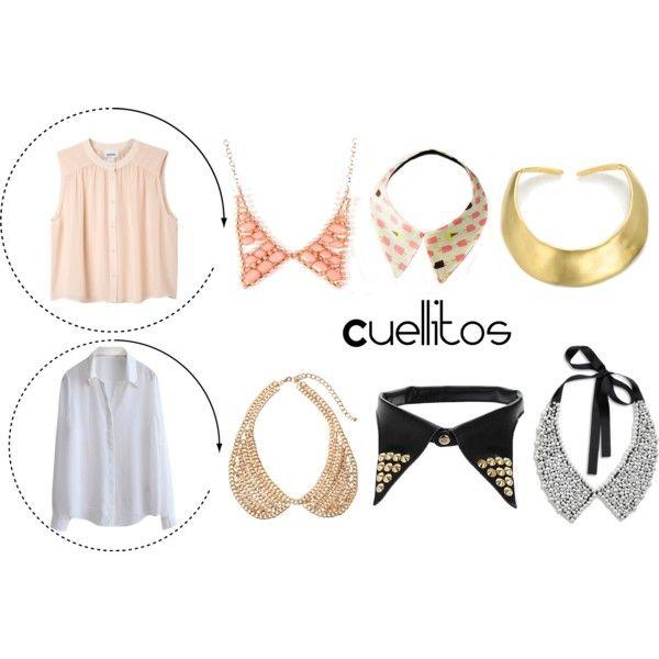 """collars"" by pamsalas on Polyvore: Beautiful Junk"