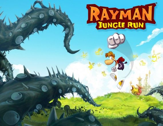 Rayman Jungle Run (Android, iOS)  Developer: Pastagames, Ubisoft Montpellier  Publisher: Ubisoft  Release: September 19, 2012 (iOS) / September 27, 2012 (Android)  MSRP: $2.99    GAMEPLAY: It is a level-based auto-runner that has you guiding the titular character through various types of terrain, collecting the a string of glowing bugs called Lums which are spread throughout.