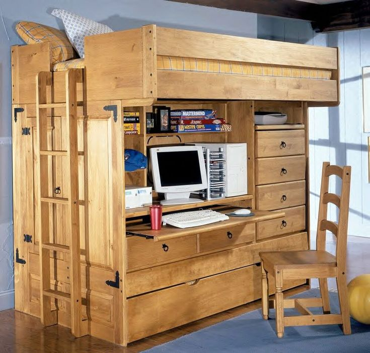 Inspiring Bunk Beds For Kids With Stairs Ideas Wooden Bed