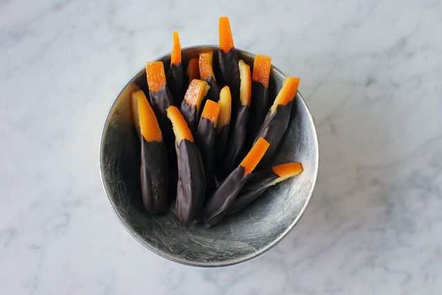 candied orange peel...have always been looking for a recipe like the ones I had in Florence - I think this could be it!