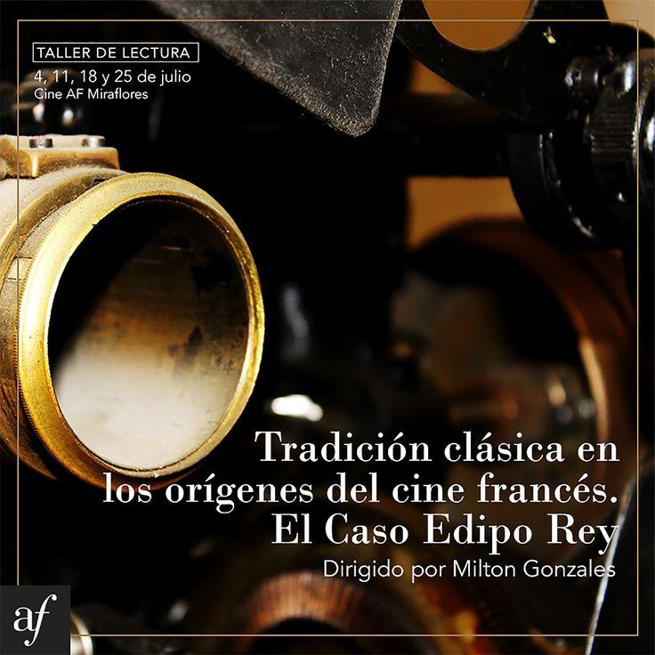 LIMA EN ESCENA: Taller: Tradición clásica en los orígenes del cine francés