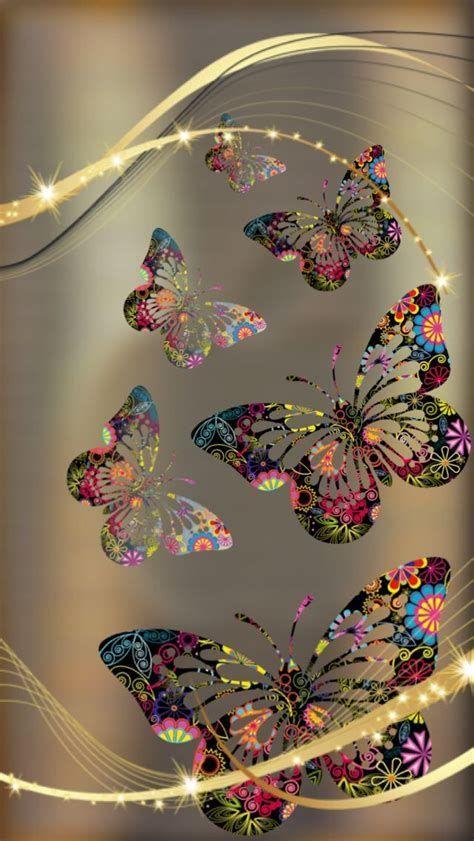 Flower Phone Wallpaper, Cellphone Wallpaper, Galaxy Wallpaper, Screen Wallpaper, Wallpaper Backgrounds, Iphone Wallpaper, Butterfly Pictures, Butterfly Art, Butterfly Kisses