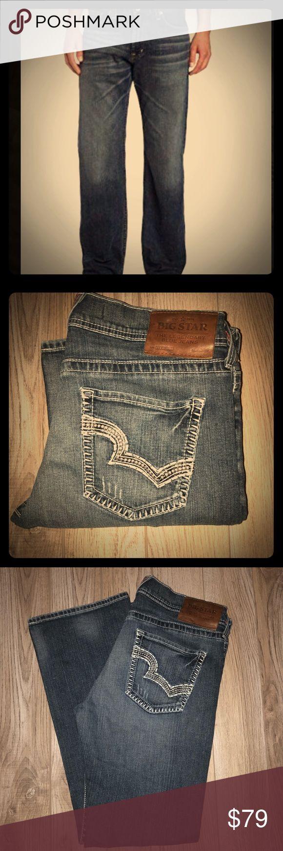 Men's Big Star Pioneer Boot 34R Like New ❤️ Like new men's Big Star Bootcut Pioneer jeans RN 75900 Big Star Jeans Bootcut #mensjeansbootcut