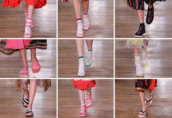 A coleção resort da Valentino vai te fazer desejar meia + sandália! Vem ver os destaques! - Garotas Estúpidas - Garotas Estúpidas