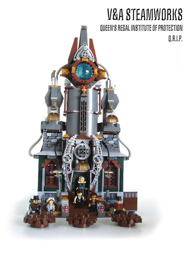 15 Imaginative Examples of Lego Steampunk