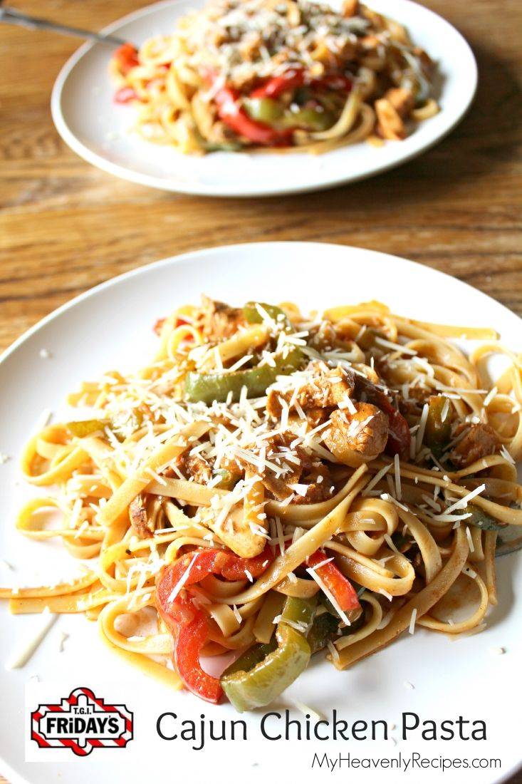 This TGI Friday's Cajun Chicken Pasta is pretty legit. You've got to pin this recipe for a dinner that has a bit of heat!