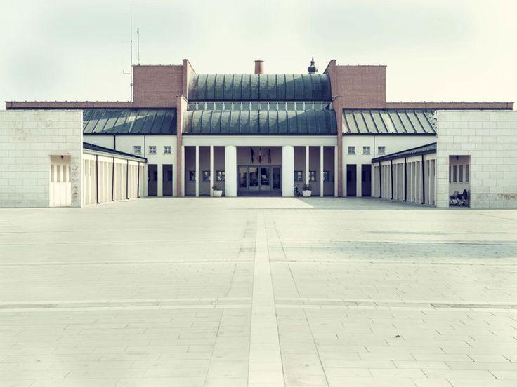 Town Hall of Borgoricco, Italy (1983-90) | Aldo Rossi