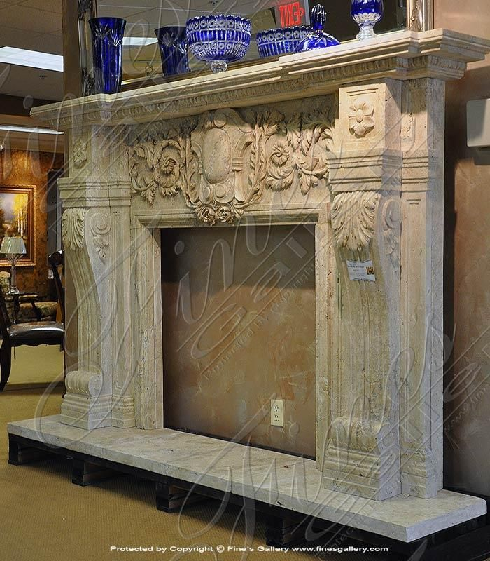 Opulent Beauty Fireplace – Marble Fireplace Firepl…
