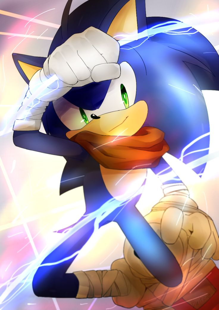 I don't like Sonic's look in Sonic Boom but this is a great work of art