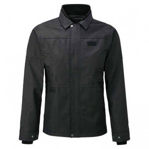 knox-mens-wax-jacket-black-front