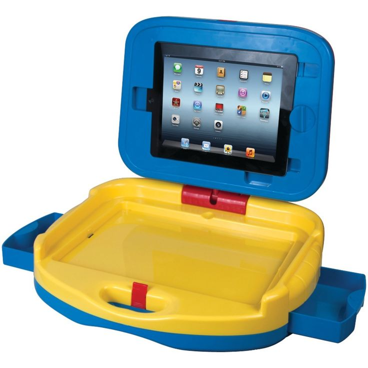 CTA PAD-KDC iPad(R) with Retina(R) display-iPad(R) 3rd Gen-iPad(R) 2 Kids Drawing &. Securely holds & protects iPad(R) for children ;  360deg rotating case easily switches between iPad(R) & marker drawing board ;  Stands upright & rotates for videos or lies flat for drawing fun ;  Dry-erase marker board & paper holder for fun drawing activities ;  Storage tray & 2 extra drawers for art supplies ;  Easily portable with carrying handle & latch for travel ;  Includes kids drawing & activity…