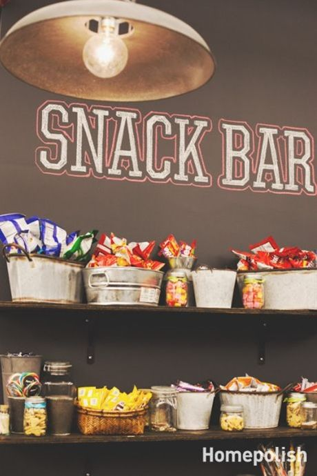 snack shack for the kids at the office. Proceeds benefit charity