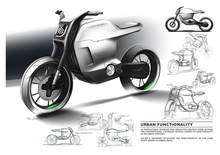 Land Rover_Motorcycle on Behance