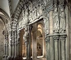 romanico   portico de la gloria   Santiago de Compostela