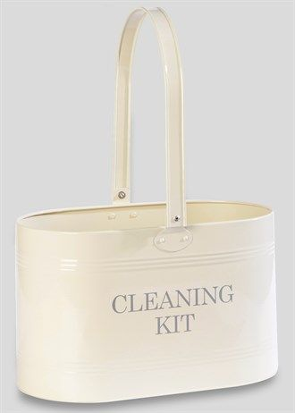 Metal Cleaning Caddy Tin (34.5cm x 18cm x 20cm)