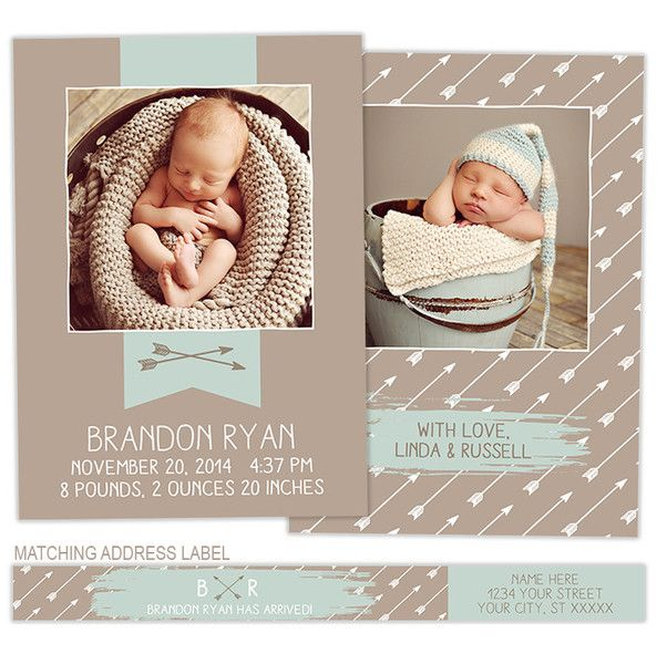 1000 images about birth announcement – Pinterest Birth Announcement