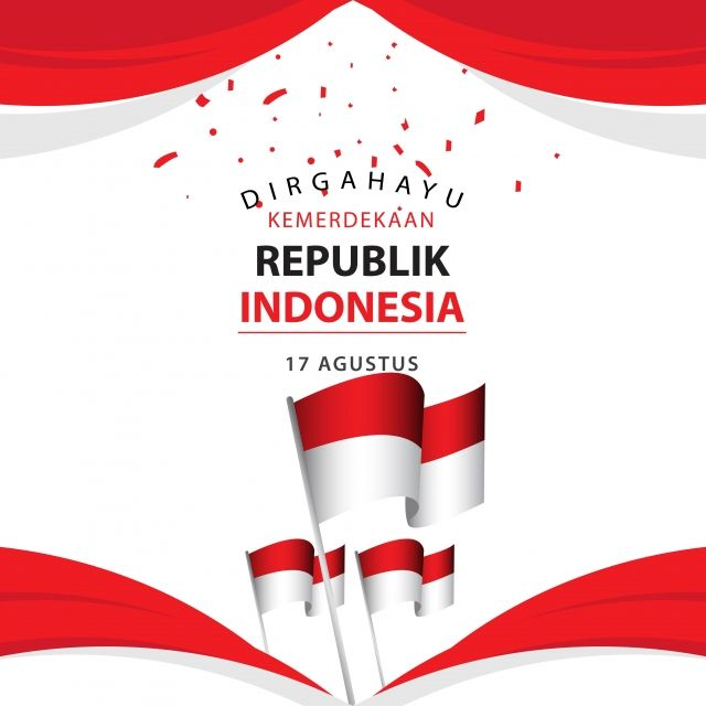 Dirgahayu Kemerdekaan Republik Indonesia Poster Vector Template Design Illustration Template Icons Poster Icons Indonesia Png And Vector With Transparent Bac Template Design Illustration Design Indonesia Poster