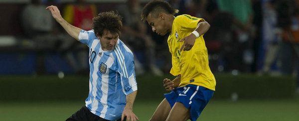 Los cracks del fútbol brasileño se quitan el sombrero ante Messi