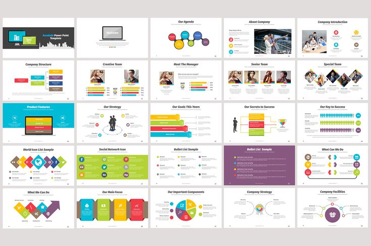 Accolade Power Point Template by DesignCorner on Creative Market