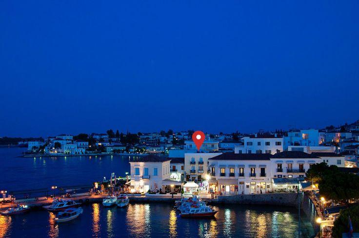Location : Alexandris Hotel, Spetses Island