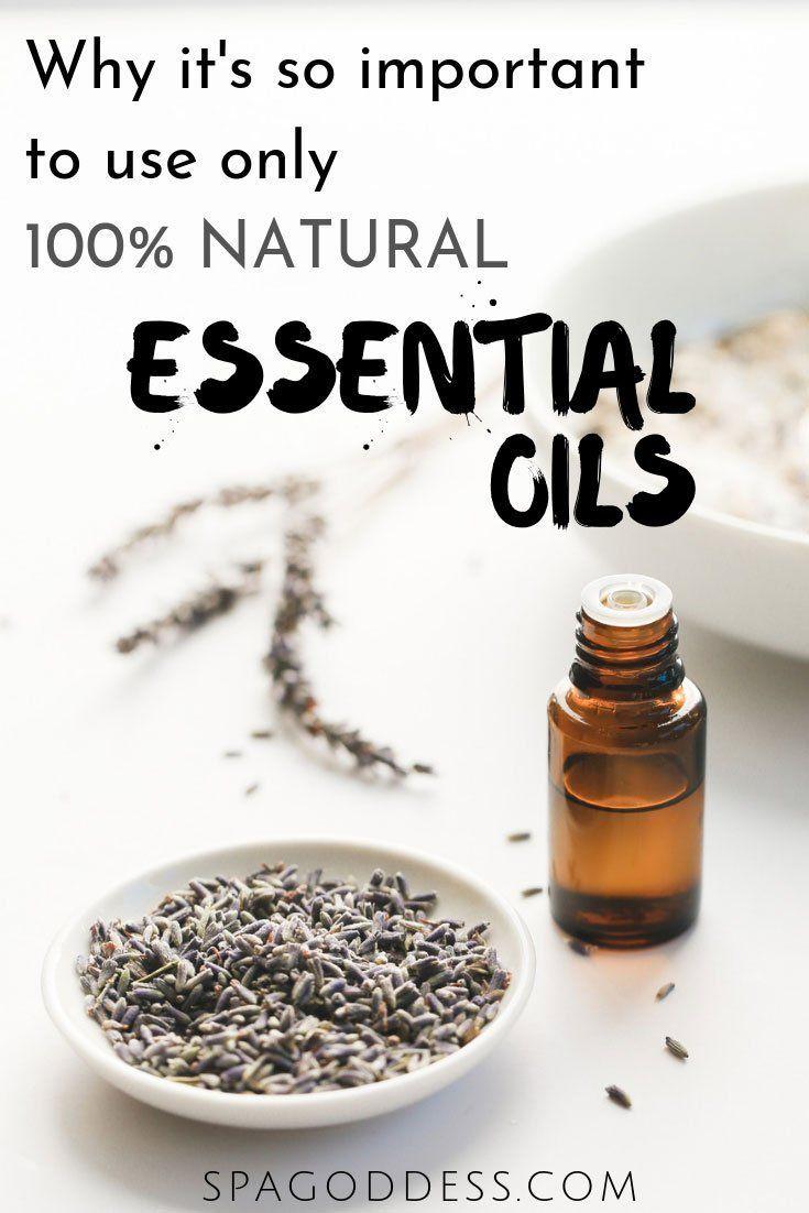Essential Oils vs Fragrance Oils | NATURAL BEAUTY | Skin
