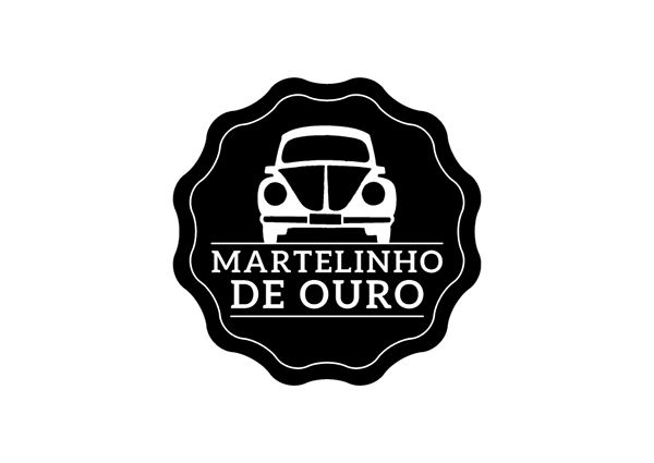 Martelinho de Ouro | Literary Collective on Behance