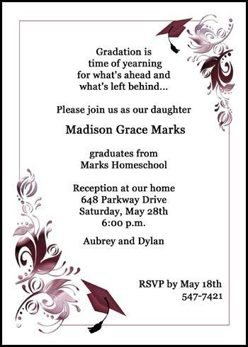 graduation announcements free