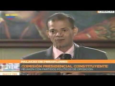 Opositor OMAR AVILA fue a reunión en Miraflores y le LANZO #PUPUTOV a El...