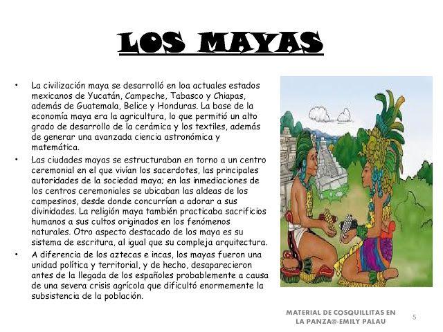 CoSqUiLLiTaS eN La PaNzA BLoGs: CIVILIZACIONES DE AMÉRICA MAYAS ,INCAS Y AZTE...