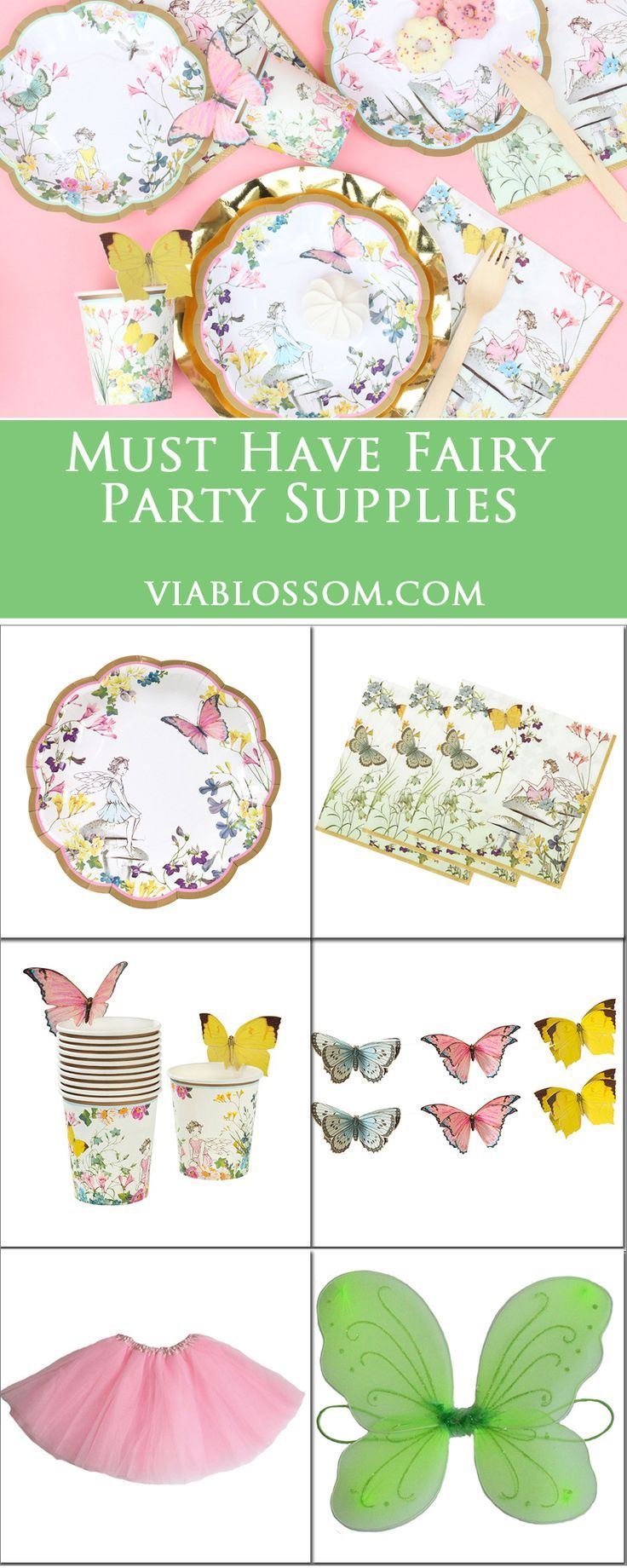 Fairy Party Ideas for a magical Fairy Party including fairy decorations and party supplies!