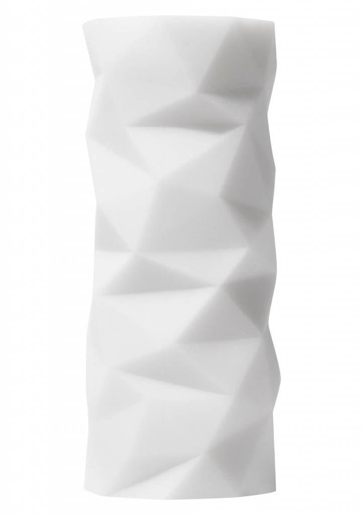Tenga 3D Polygon white masturbator | misswalker.nl