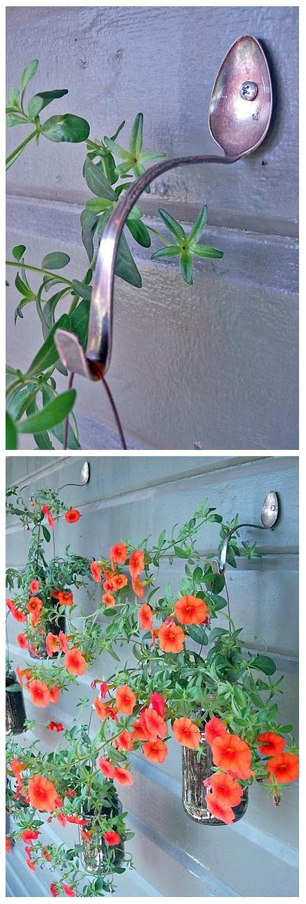 Simple DIY Planter Hangers....................