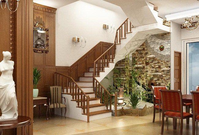 Phong thủy cầu thang cũng rất quan trọng đối với tài vận của gia đình