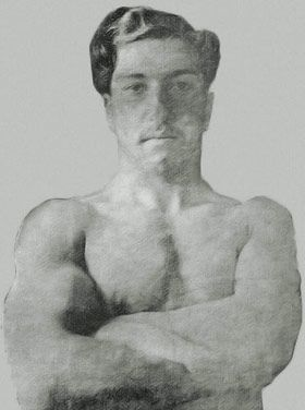 """Vahram Papazyan, Fifth Olympic games in Stockholm, """"Marmnamarz"""", 1912"""