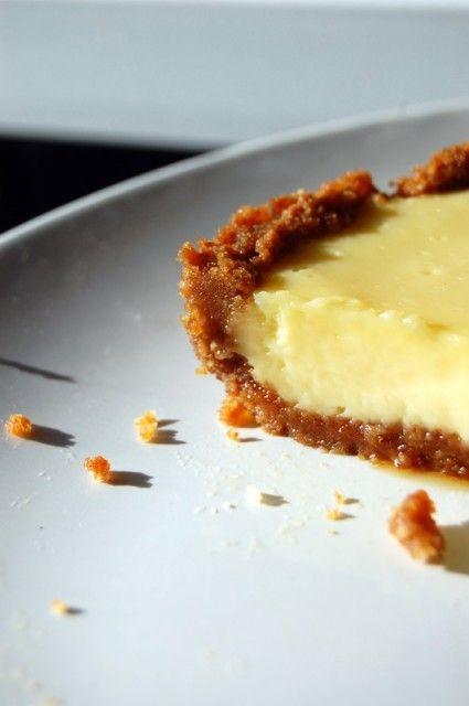 Tarte au citron facile pâte spéculoos | Torchons & Serviettes