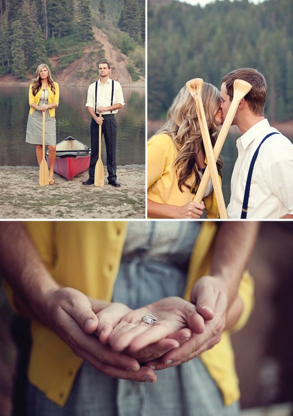 Magnolia Rouge: Outdoors Engagement shoot by Shannon Elizabeth