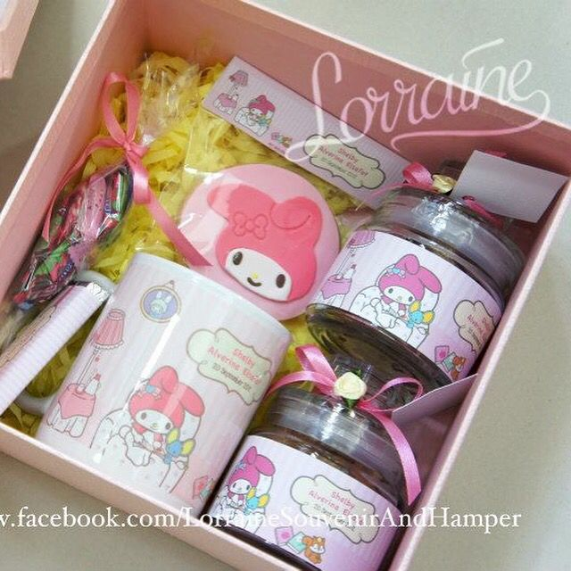 My melody theme for first month baby hamper