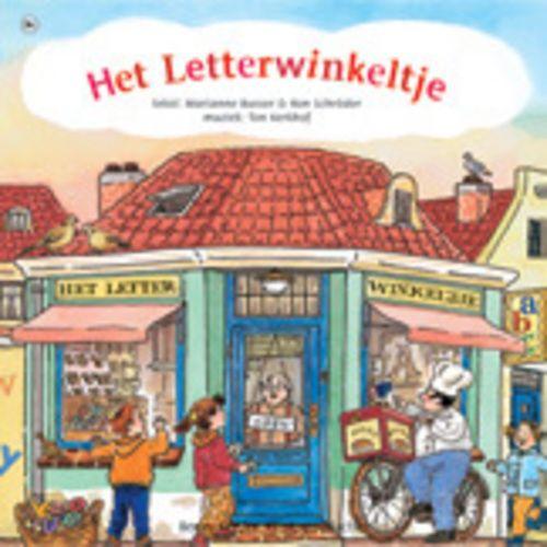 Cd bij het boek het Letterwinkeltje Bennyvreden.nl | Het Letterwinkeltje (cd boek)