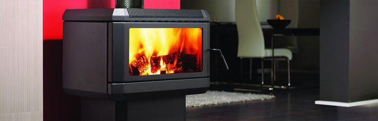 Regency Wood Heater: HUME LARGE WOOD FREESTANDING - Being the largest member of the Regency wood fire family, the Hume will provide a dramatic wide glass view of an incredible fire while warming larger living areas. The firebox is specially designed to maximize heat output and is fitted with a 3-speed fan for extra circulation. The resulting heating capacity is an area of approximately 300 sq.m. #Heating #WoodFire #Freestanding #Regency #HearthHouse
