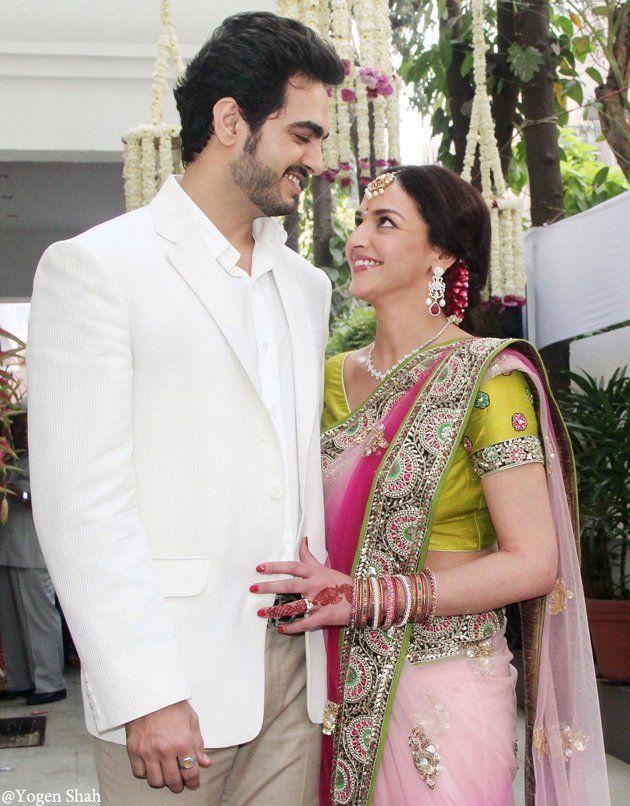 The much talked about Bharat Takhtani & #EshaDeol Wedding