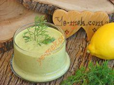 Yoğurtlu Hardal Salata Sosu Resimli Tarifi - Yemek Tarifleri