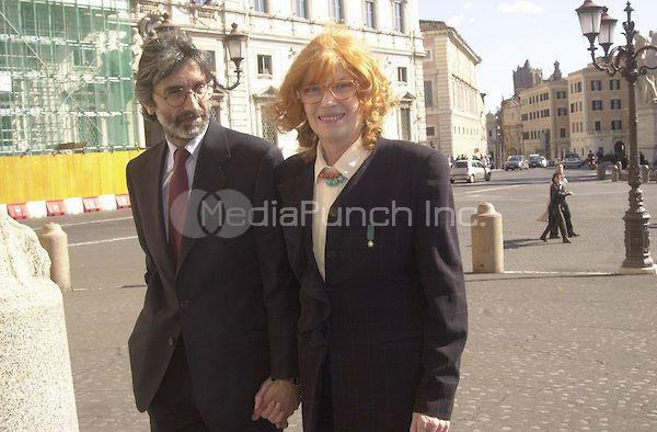Monica vitti with husband roberto russo coppie pinterest