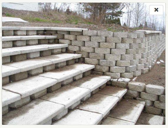25+ best ideas about Large retaining wall blocks on Pinterest ...